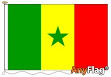 SENEGAL ANYFLAG RANGE - VARIOUS SIZES